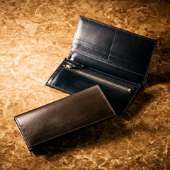 昇進のお祝いに・ご褒美に・本物志向の長財布