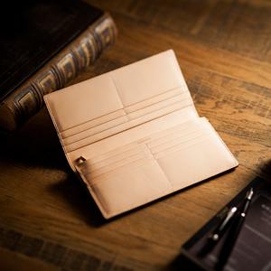 上品な織り込み財布・長財布