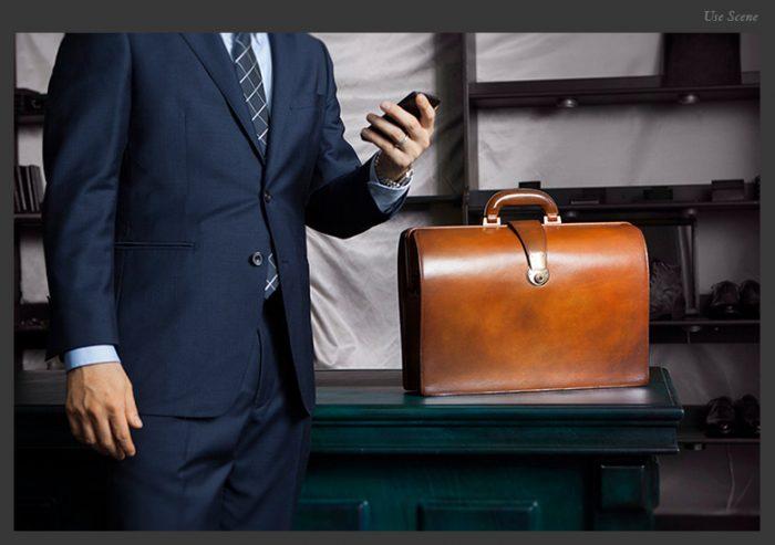 一流の男性・一流の社長におすすめのバッグはダレスバッグ