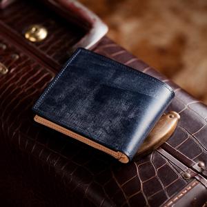 二つ折り財布・フライドル・ネイビー