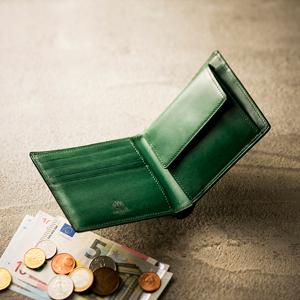 渋い男の二つ折り財布