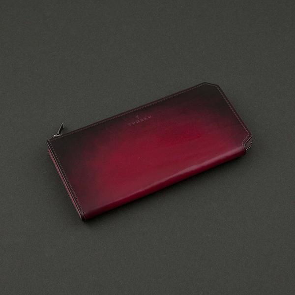 飽きない大人の秋色財布・ファスナータイプ