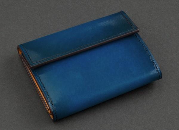 手染め職人の三つ折り財布