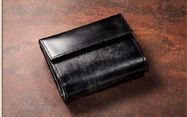 熟練職人の三つ折り財布