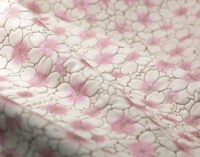 ヌバックレザー 桜の花びら