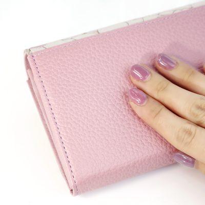 桜模様の財布 裏面