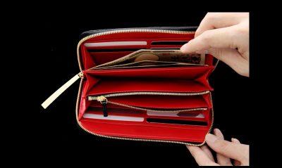 男前女子におすすめ・クロコダイルの長財布