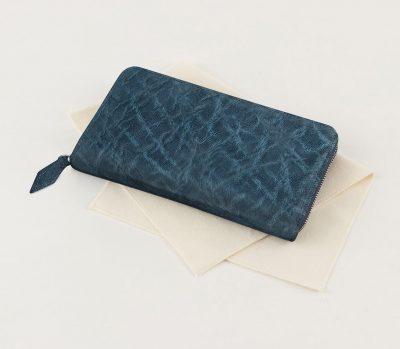 他人とかぶらない・個性的な象革の長財布