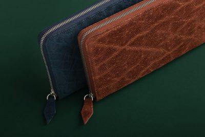エレファントレザーのメンズ長財布
